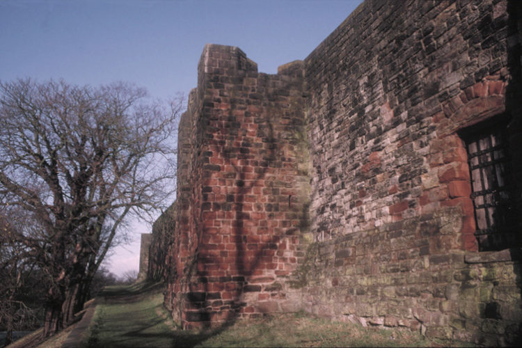Kinmont Willie Escapes From Carlisle Castle
