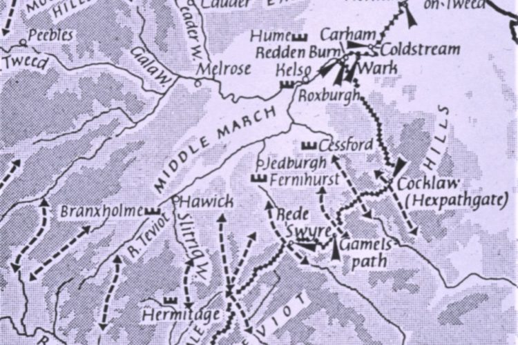 Reiver Truce Days And Locations