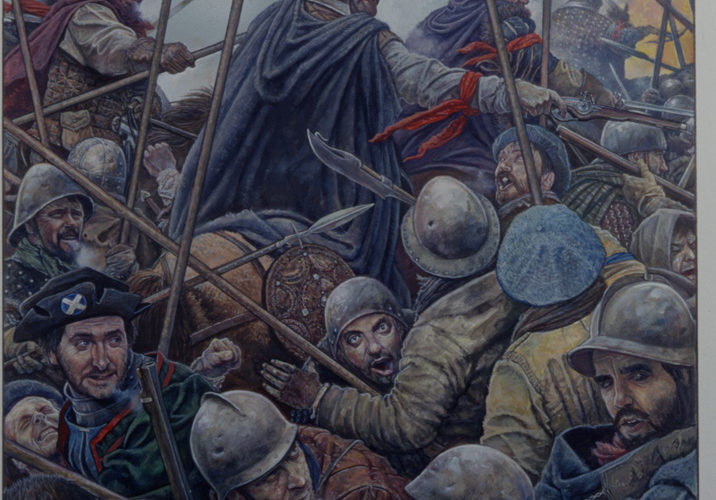 Battle Of Solway Moss 1542