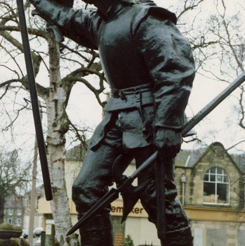 Flodden Memorial  Or Fletcher Memorial, Selkirk